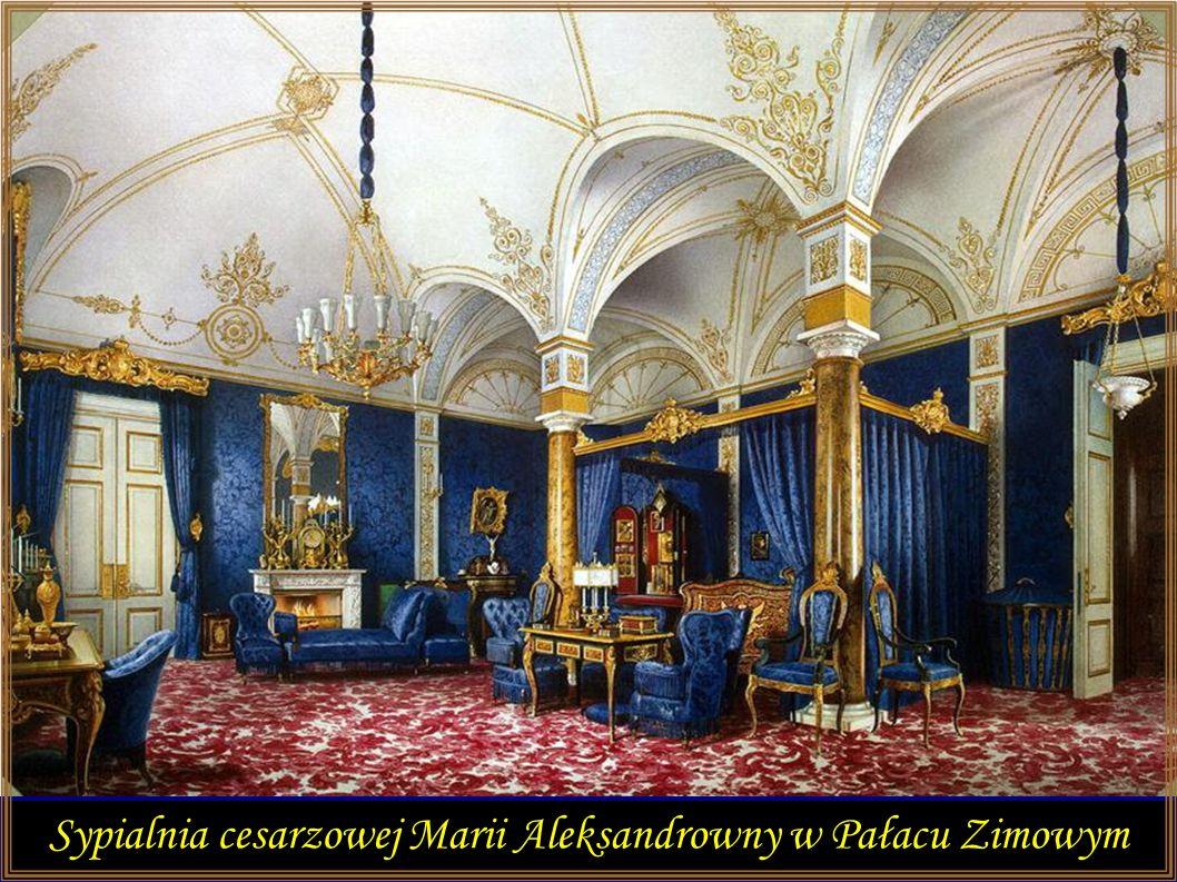 Sypialnia cesarzowej Marii Aleksandrowny w Pałacu Zimowym
