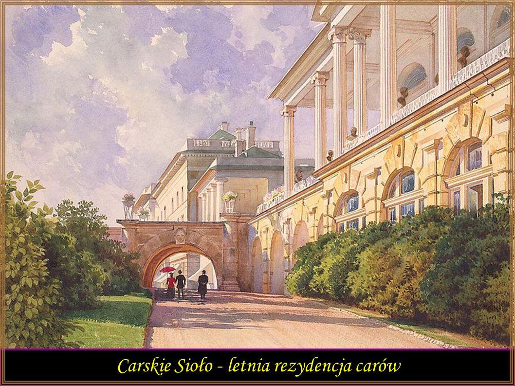 Carskie Sioło - letnia rezydencja carów