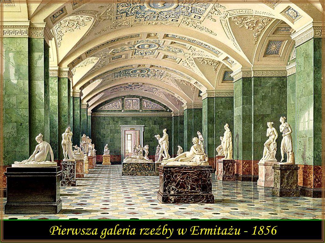 Pierwsza galeria rzeźby w Ermitażu - 1856
