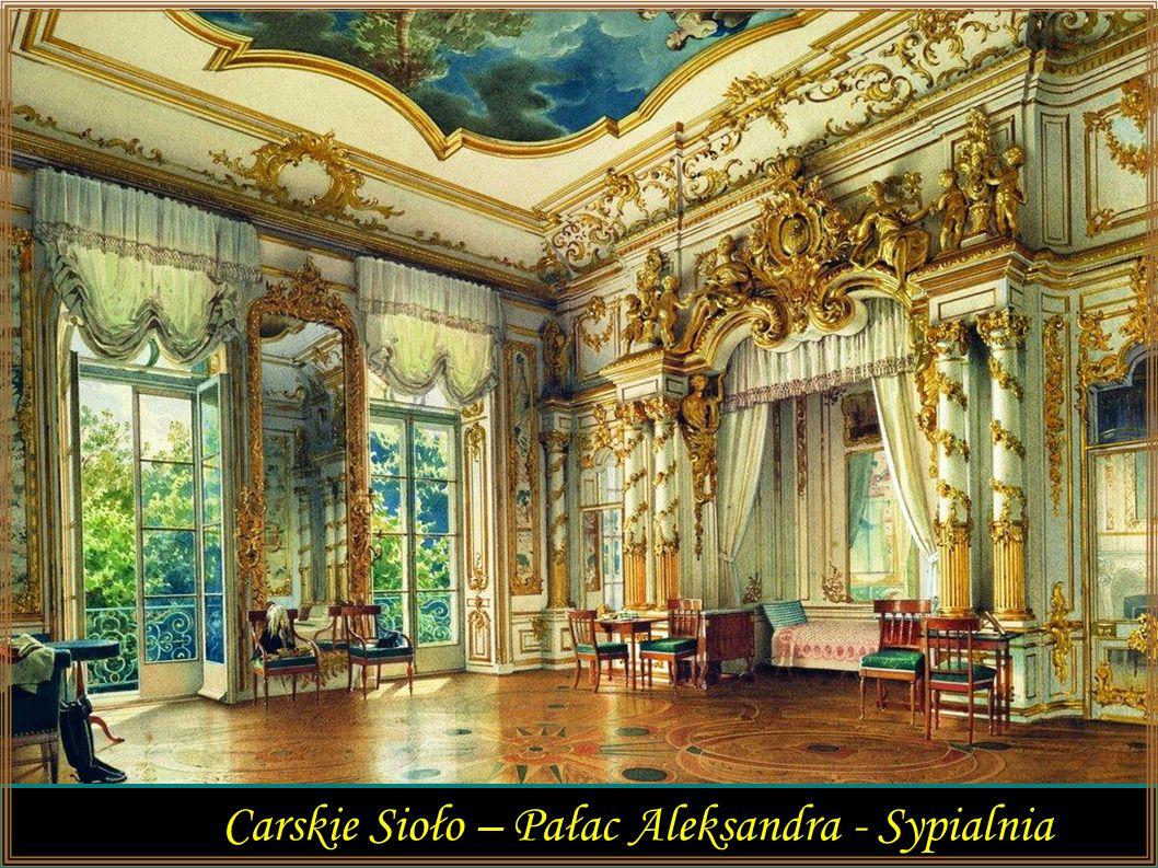 Carskie Sioło – Pałac Aleksandra - Sypialnia