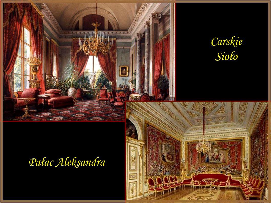 Carskie Sioło Pałac Aleksandra