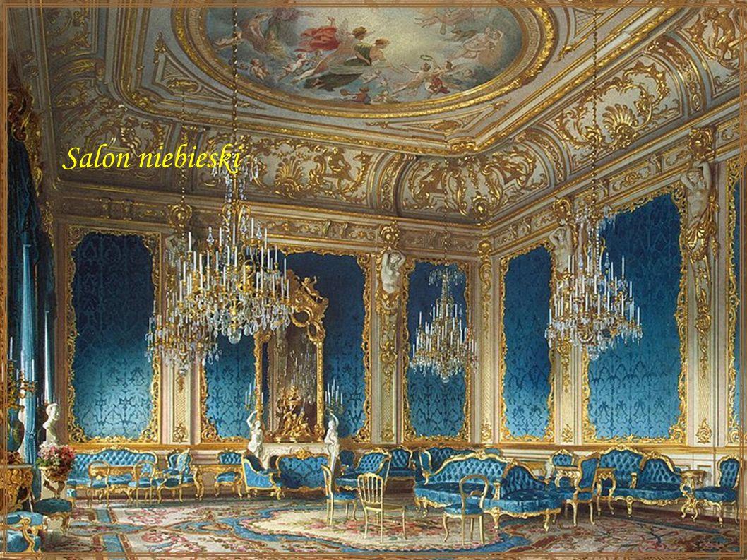 Salon niebieski