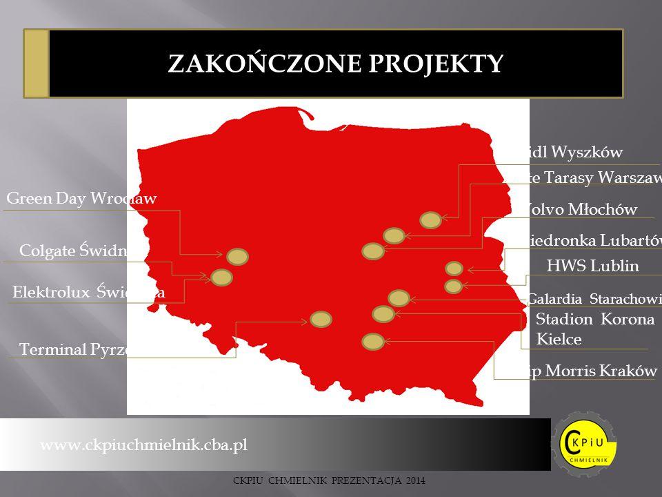 ZAKOŃCZONE PROJEKTY Lidl Wyszków Złote Tarasy Warszawa