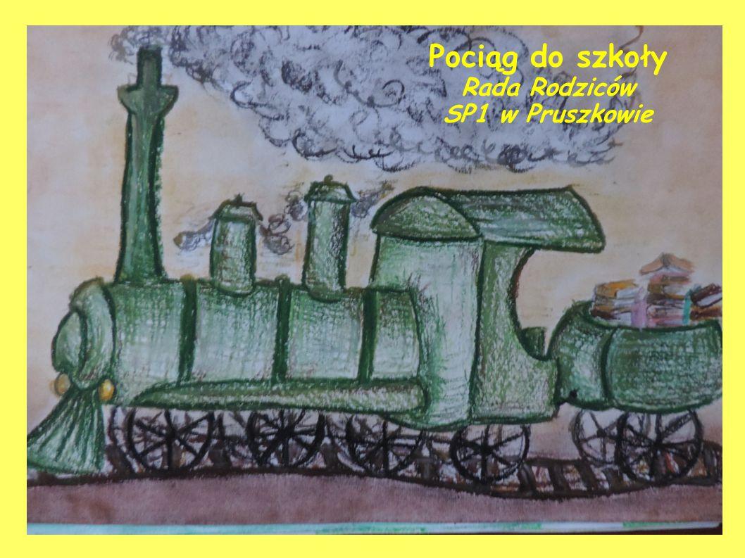 Pociąg do szkoły Rada Rodziców SP1 w Pruszkowie