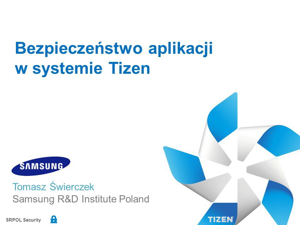 Bezpieczeństwo aplikacji w systemie Tizen