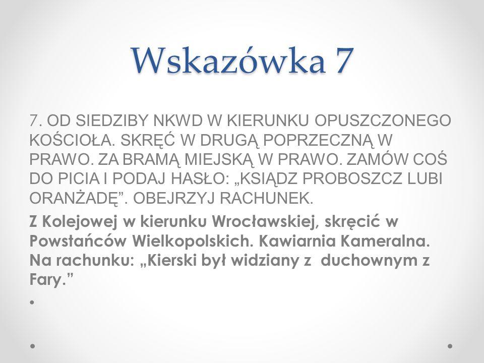 Wskazówka 7