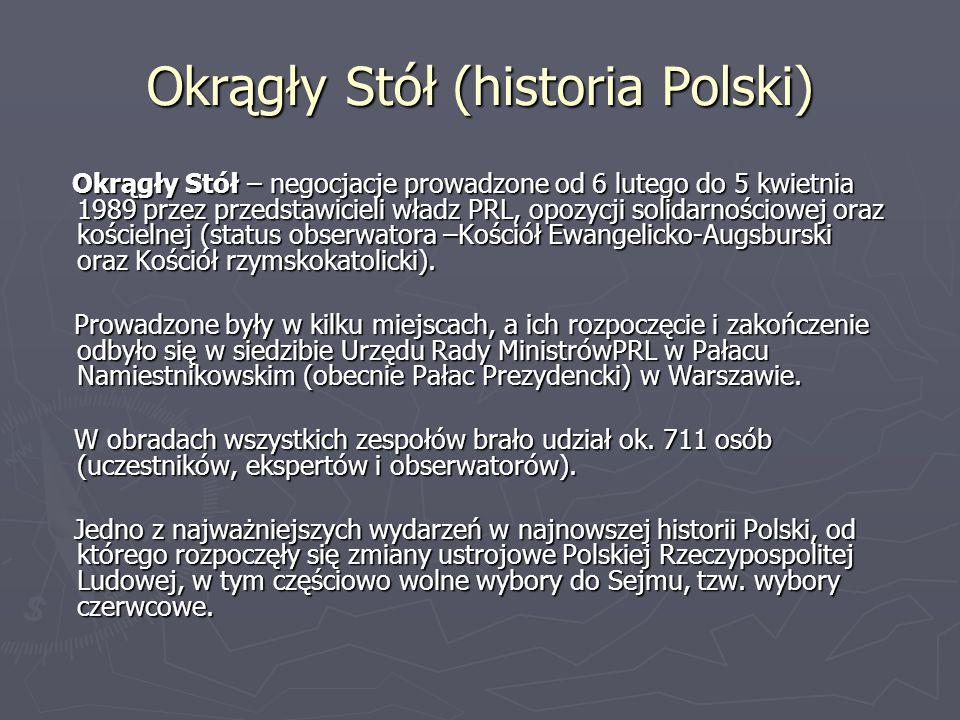 Okrągły Stół (historia Polski)