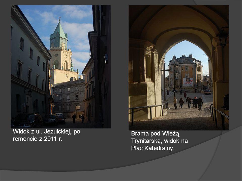 Widok z ul. Jezuickiej, po remoncie z 2011 r.