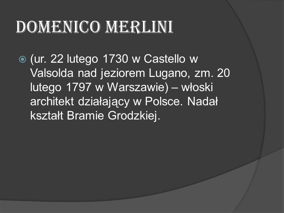 Domenico Merlini