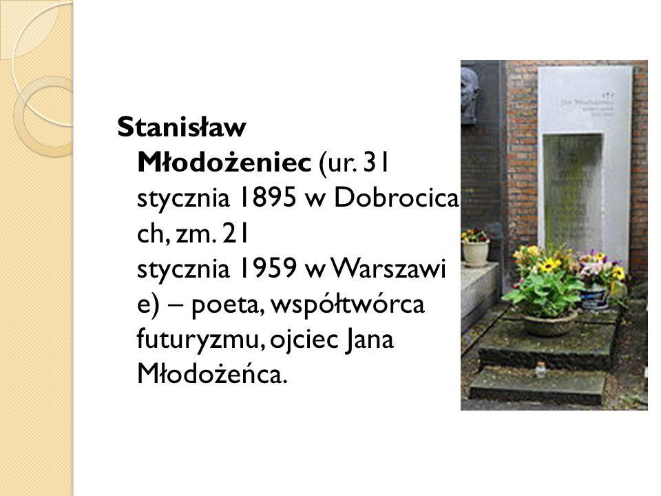 Stanisław Młodożeniec (ur. 31 stycznia 1895 w Dobrocica ch, zm