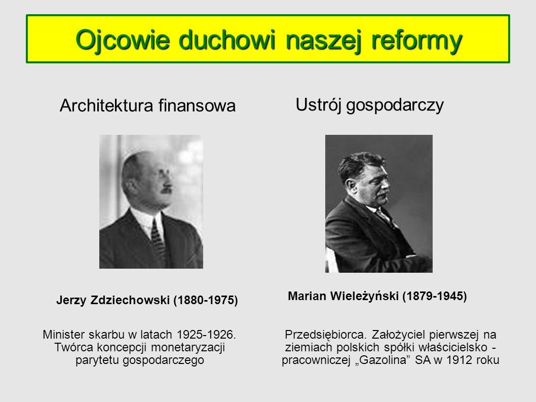 Marian Wieleżyński (1879-1945) Jerzy Zdziechowski (1880-1975)