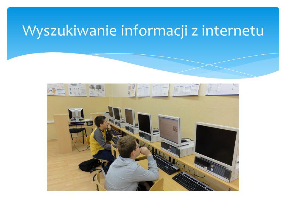 Wyszukiwanie informacji z internetu