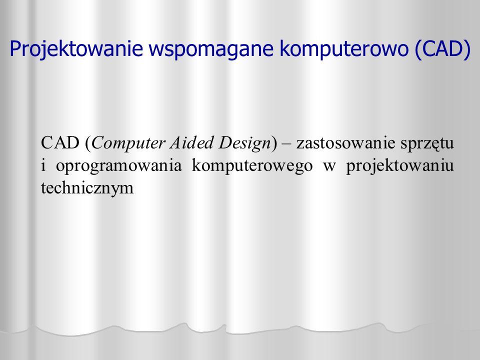 Projektowanie wspomagane komputerowo (CAD)