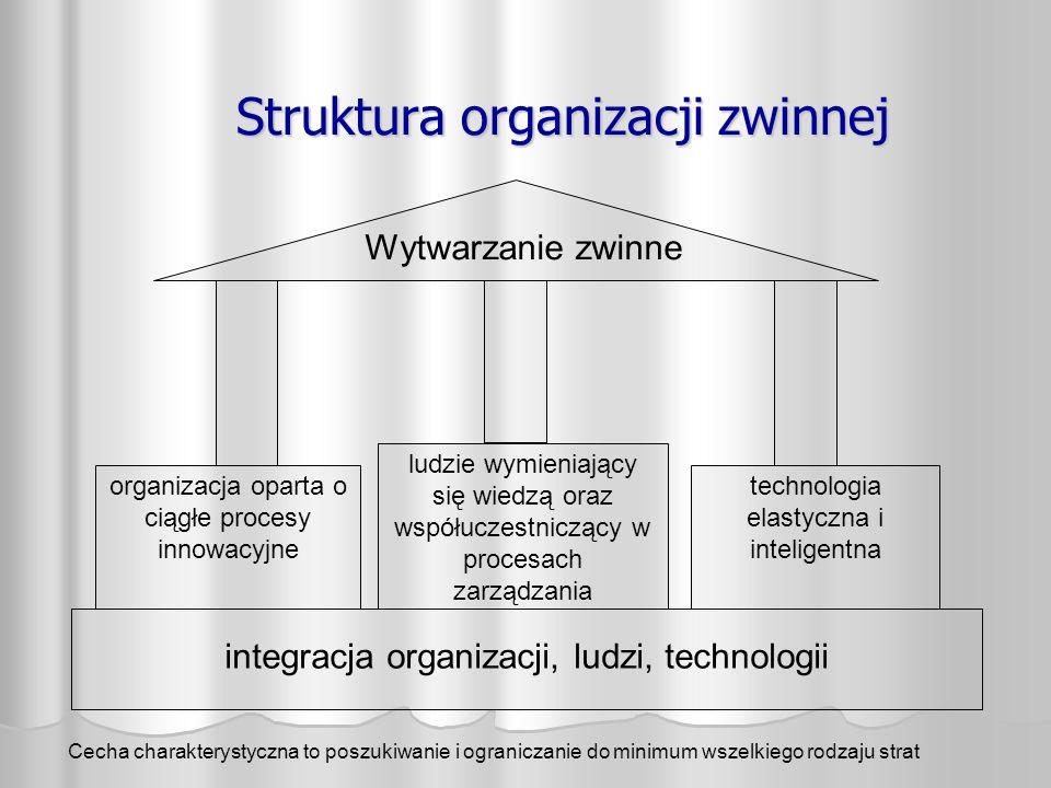 Struktura organizacji zwinnej