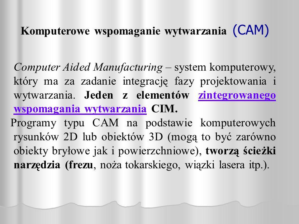 Komputerowe wspomaganie wytwarzania (CAM)