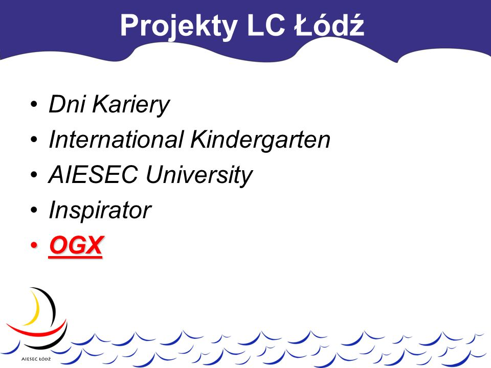 Projekty LC Łódź Dni Kariery International Kindergarten