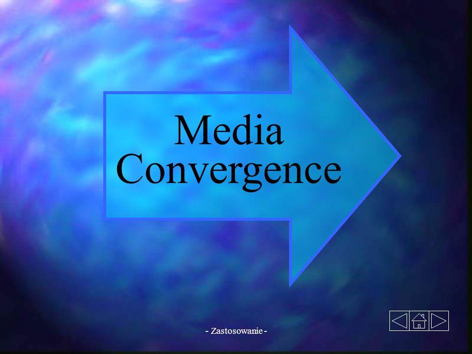 Media Convergence - Zastosowanie -