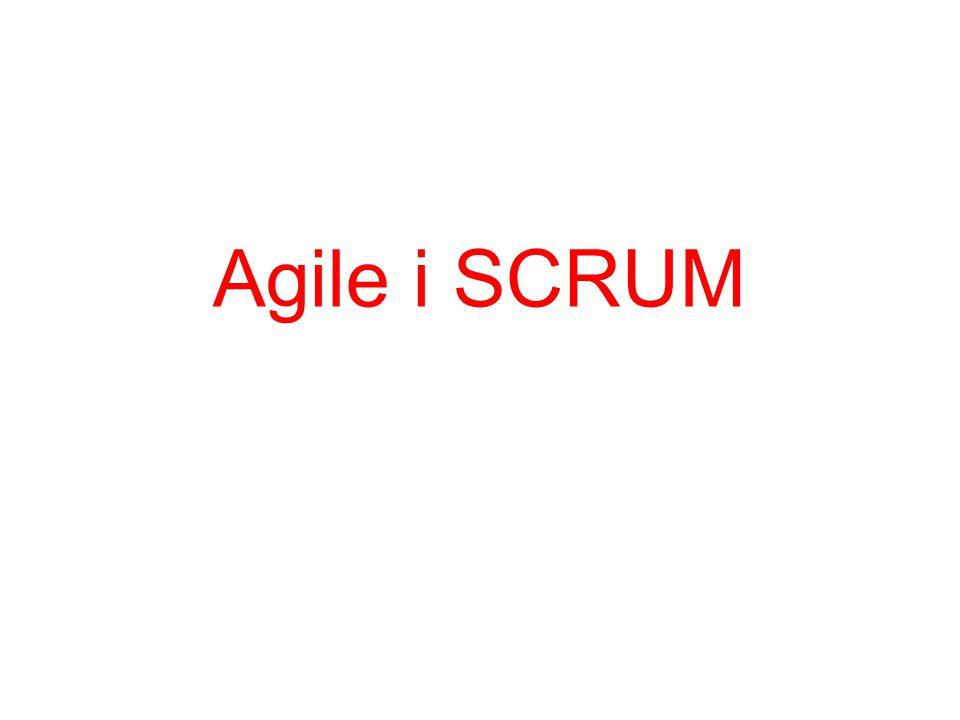 Agile i SCRUM