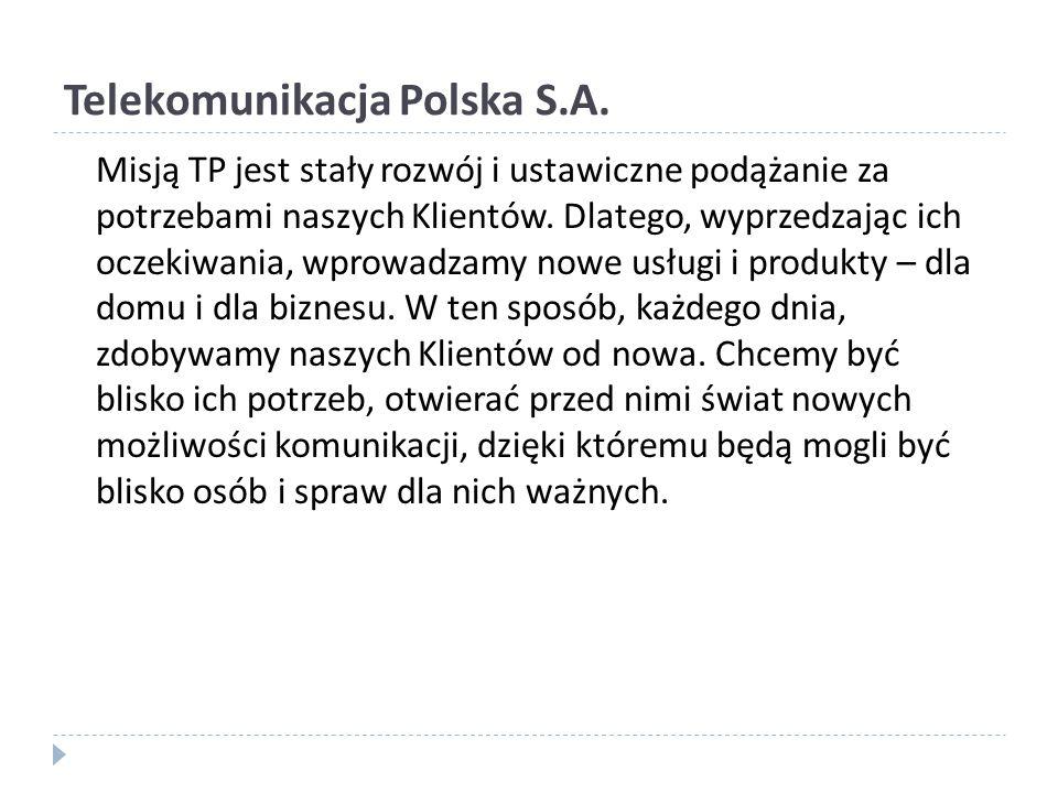 Telekomunikacja Polska S.A.