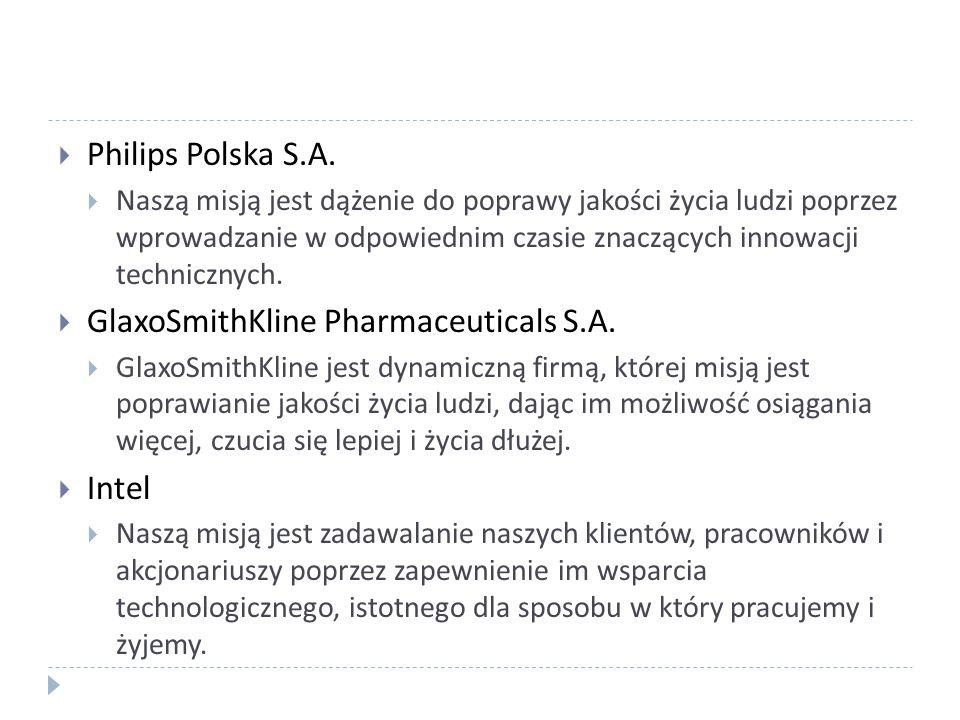 GlaxoSmithKline Pharmaceuticals S.A.
