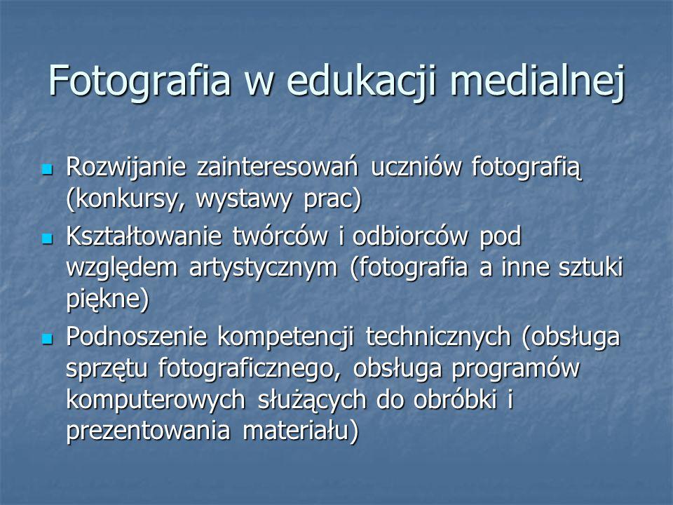 Fotografia w edukacji medialnej