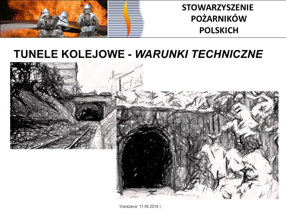TUNELE KOLEJOWE - WARUNKI TECHNICZNE