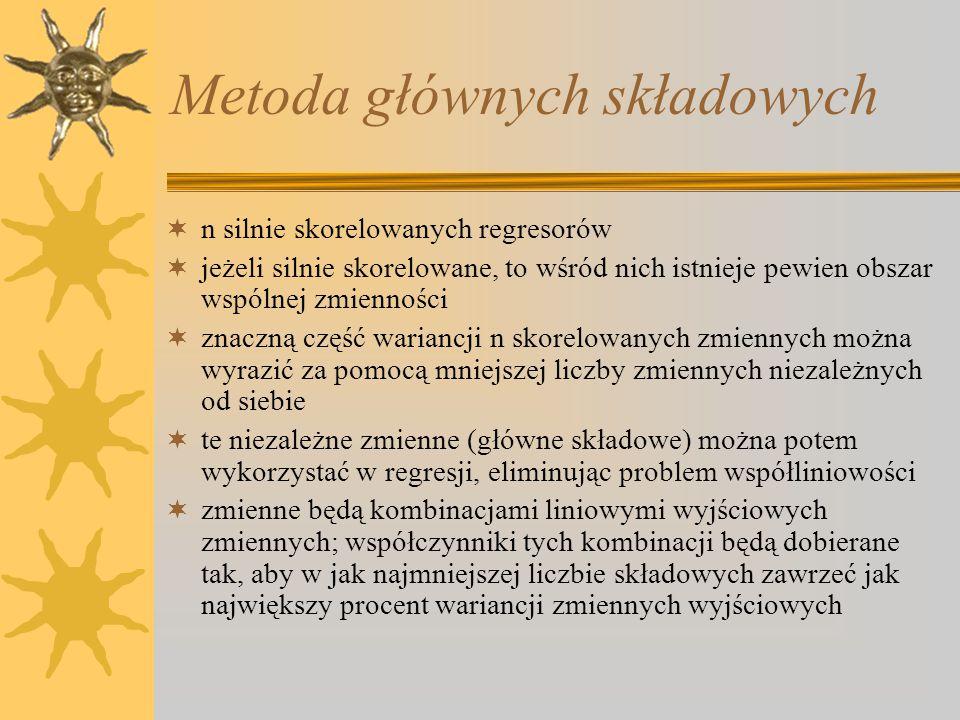 Metoda głównych składowych