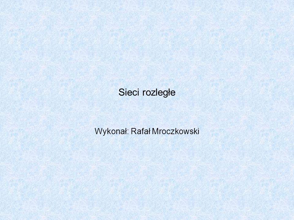 Wykonał: Rafał Mroczkowski