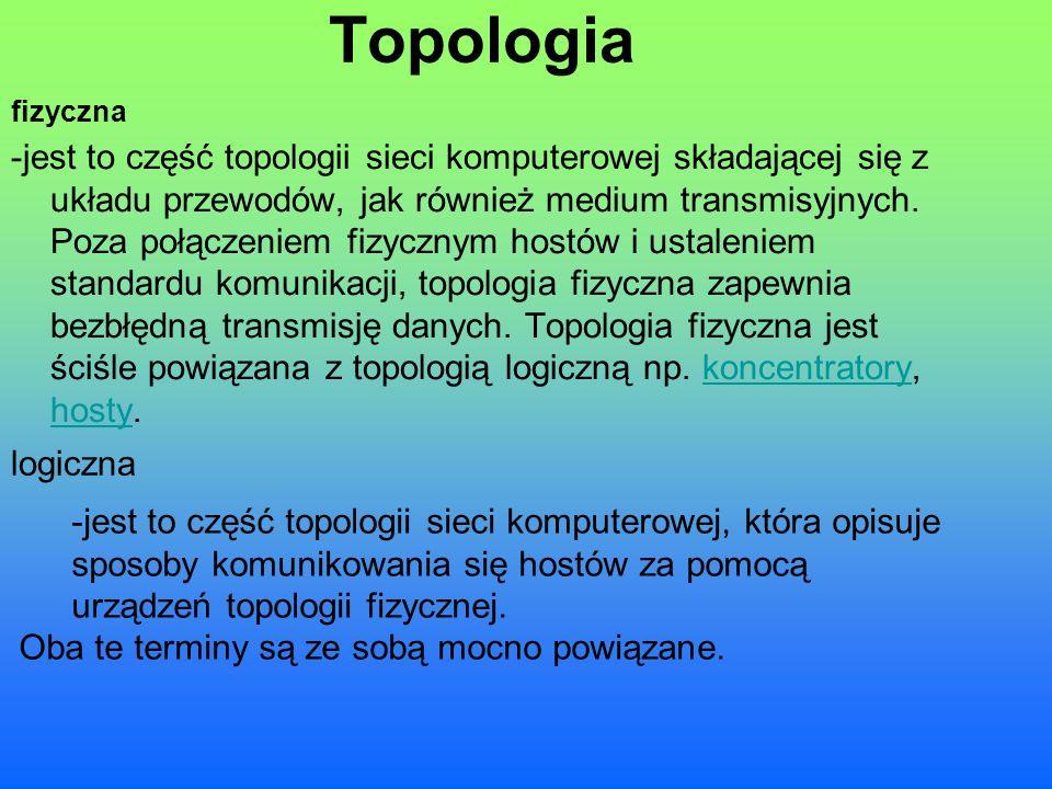 Topologia fizyczna.