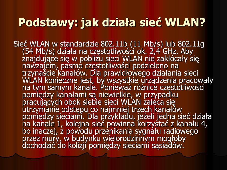 Podstawy: jak działa sieć WLAN