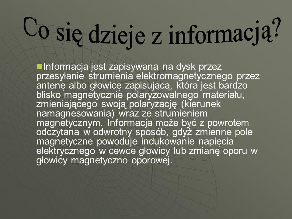 Co się dzieje z informacją