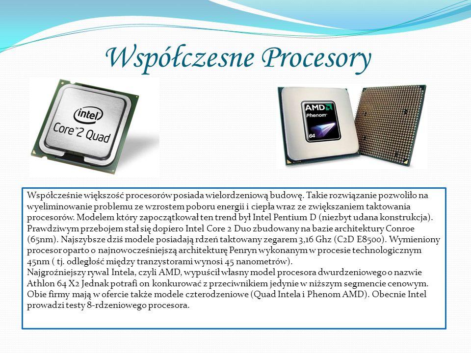 Współczesne Procesory