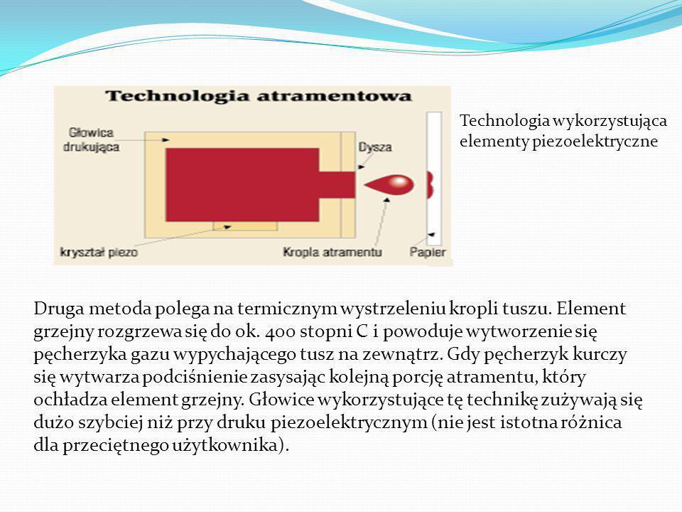Technologia wykorzystująca elementy piezoelektryczne