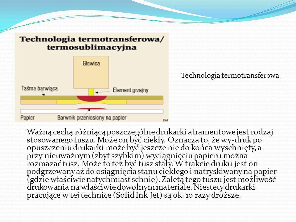 Technologia termotransferowa