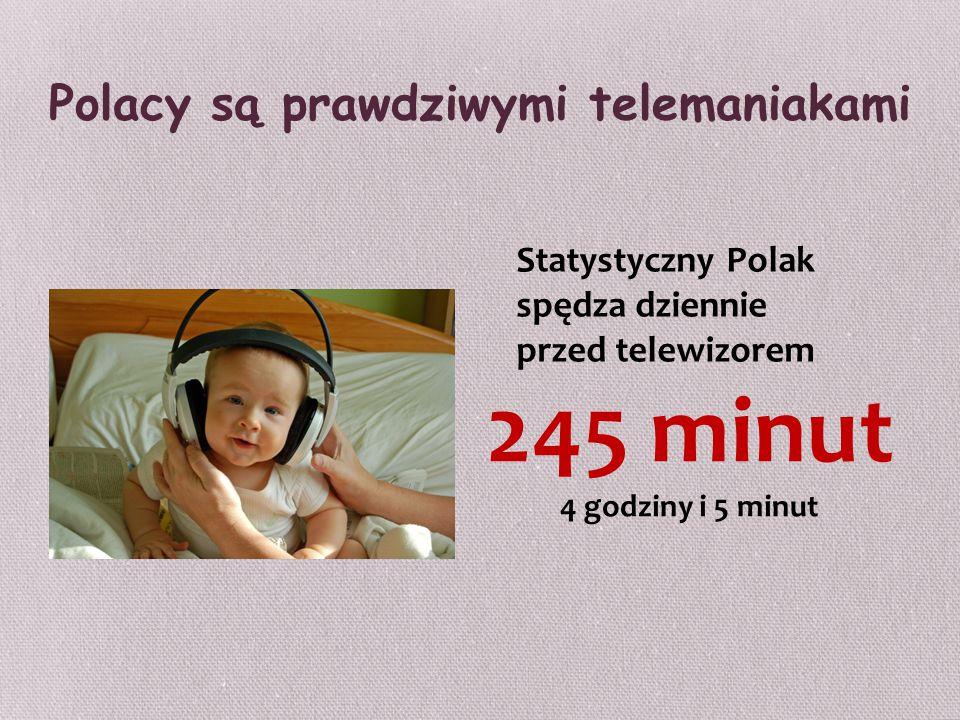 Polacy są prawdziwymi telemaniakami