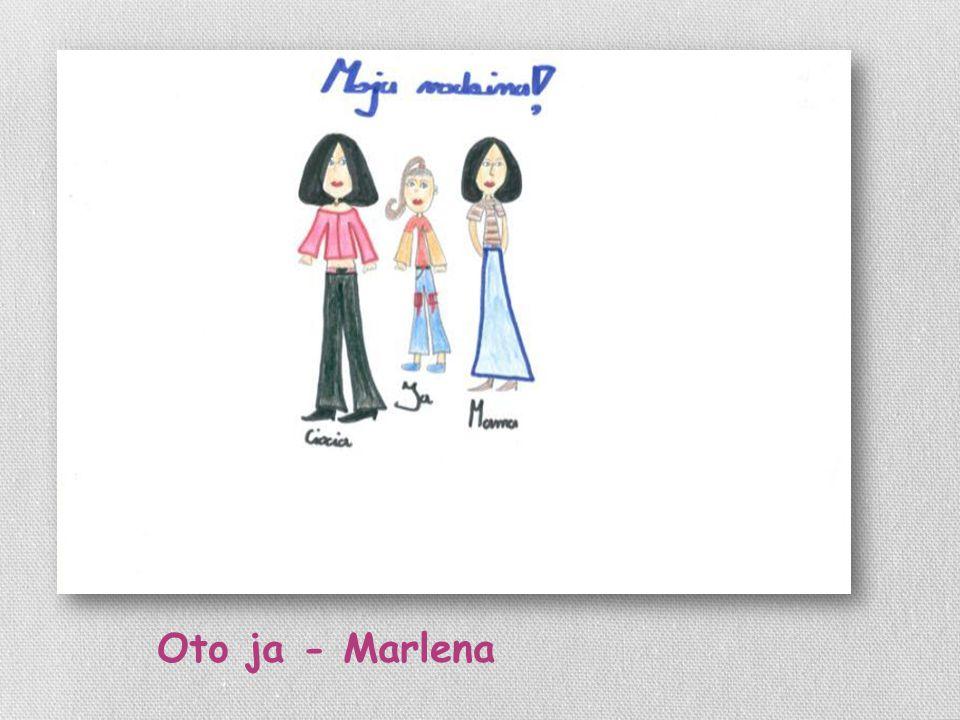 Oto ja - Marlena