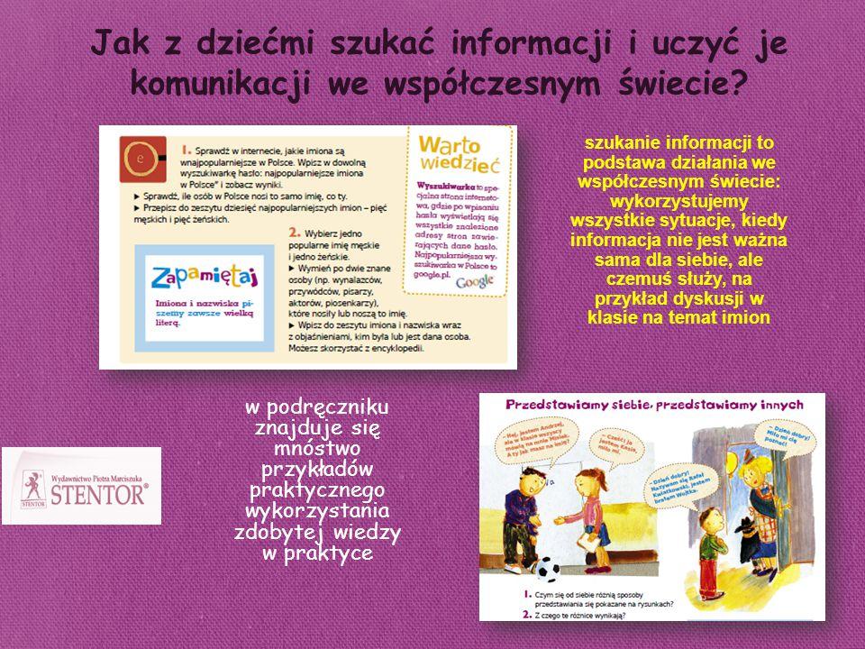 Jak z dziećmi szukać informacji i uczyć je komunikacji we współczesnym świecie