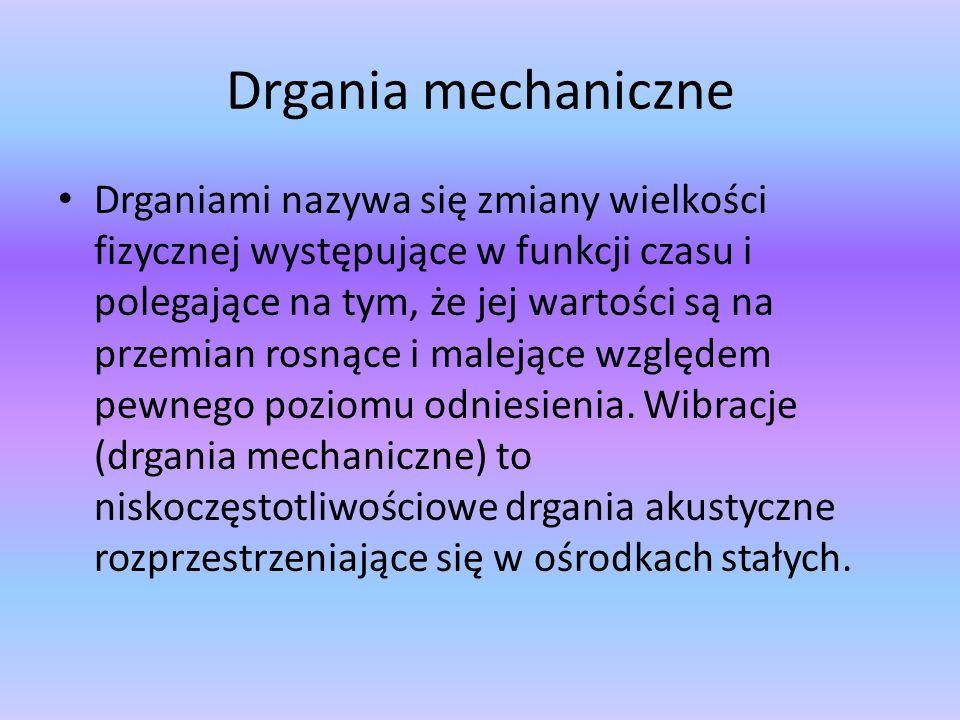 Drgania mechaniczne