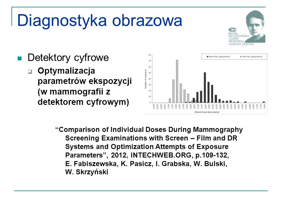 Diagnostyka obrazowa Detektory cyfrowe