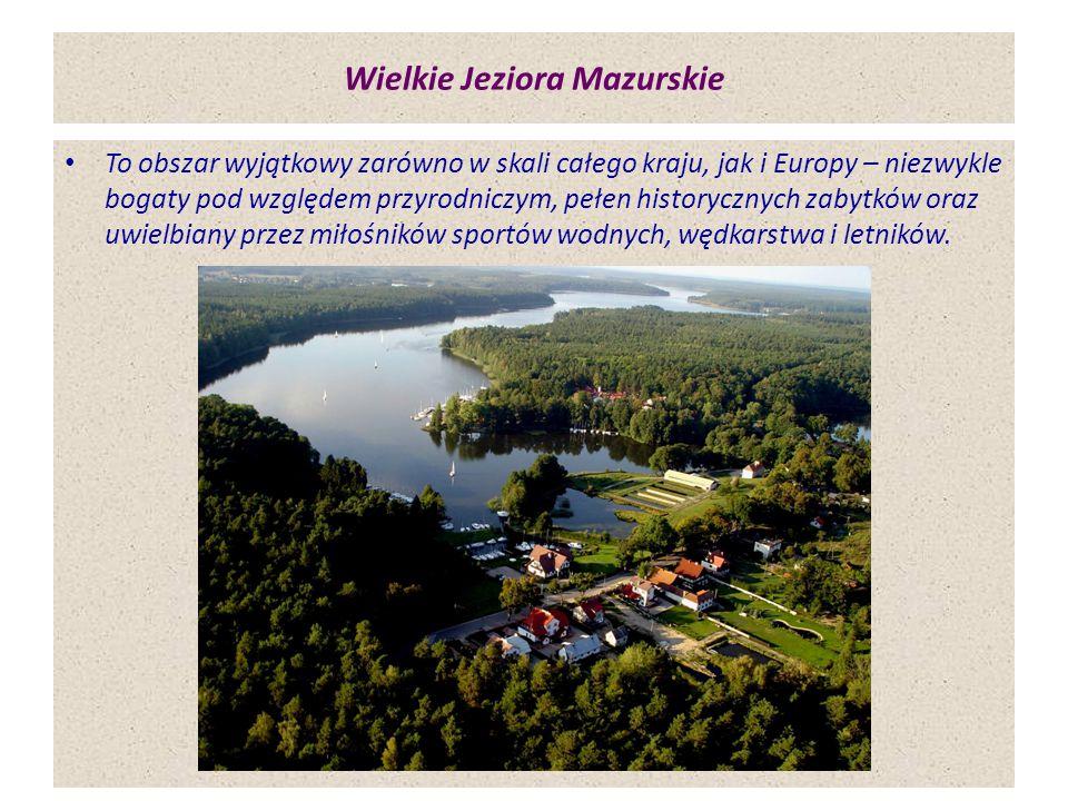 Wielkie Jeziora Mazurskie