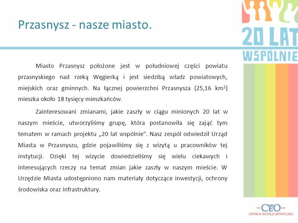 Przasnysz - nasze miasto.
