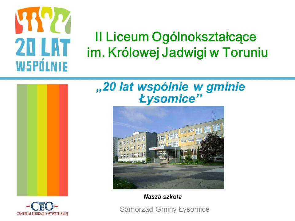 II Liceum Ogólnokształcące im. Królowej Jadwigi w Toruniu