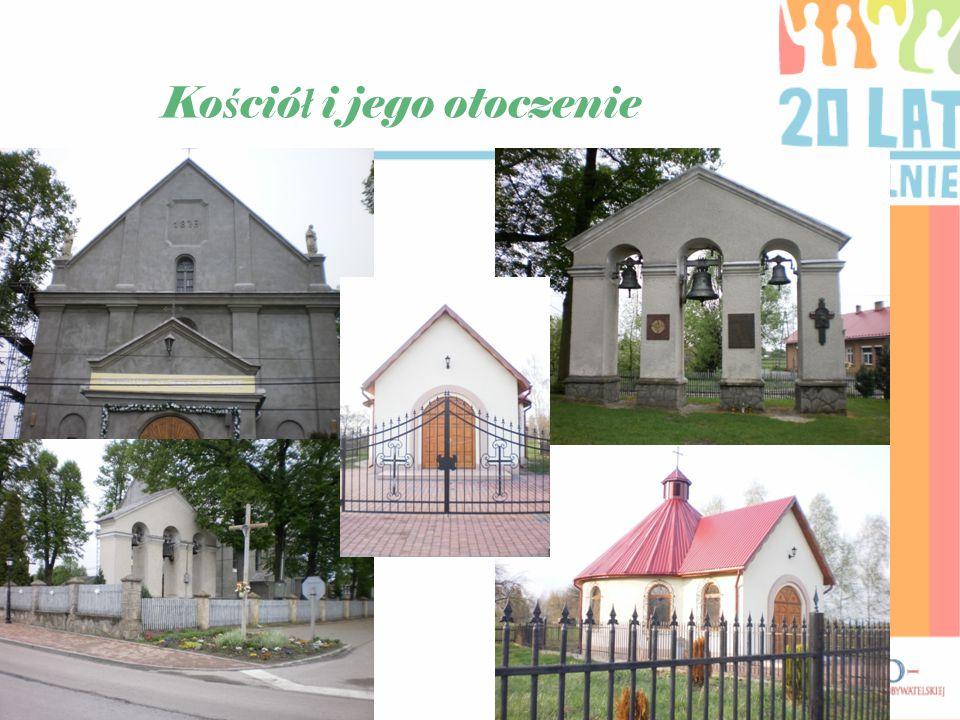 Kościół i jego otoczenie