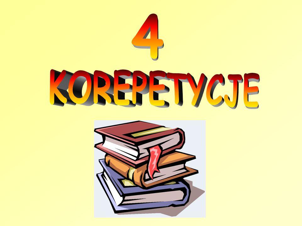 4 KOREPETYCJE