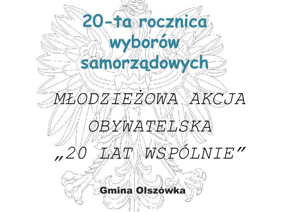 20-ta rocznica wyborów samorządowych