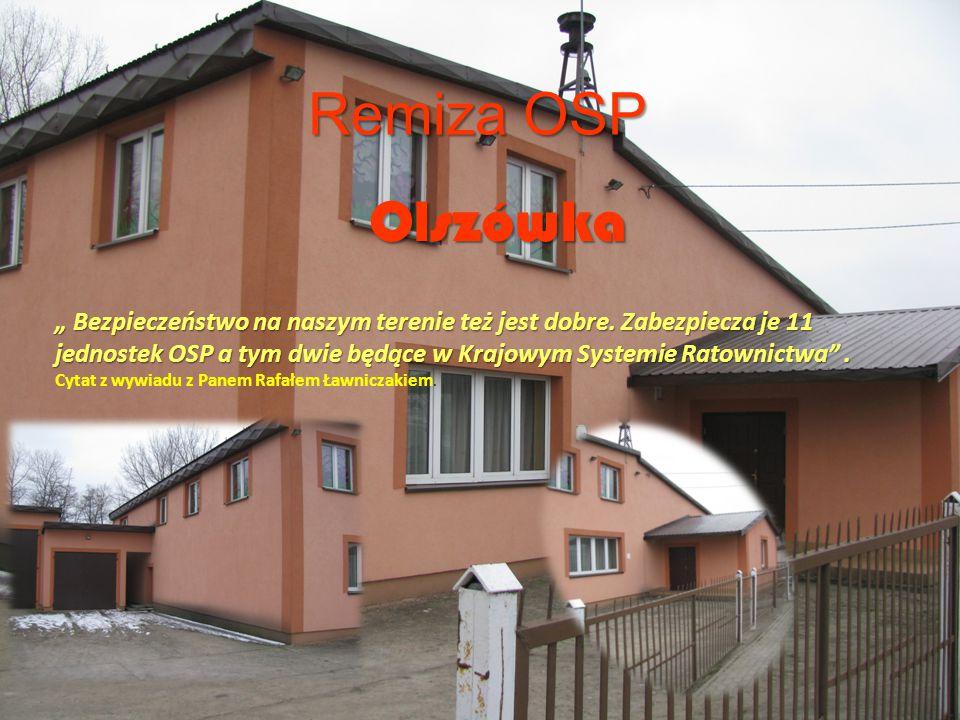 Remiza OSP Olszówka.