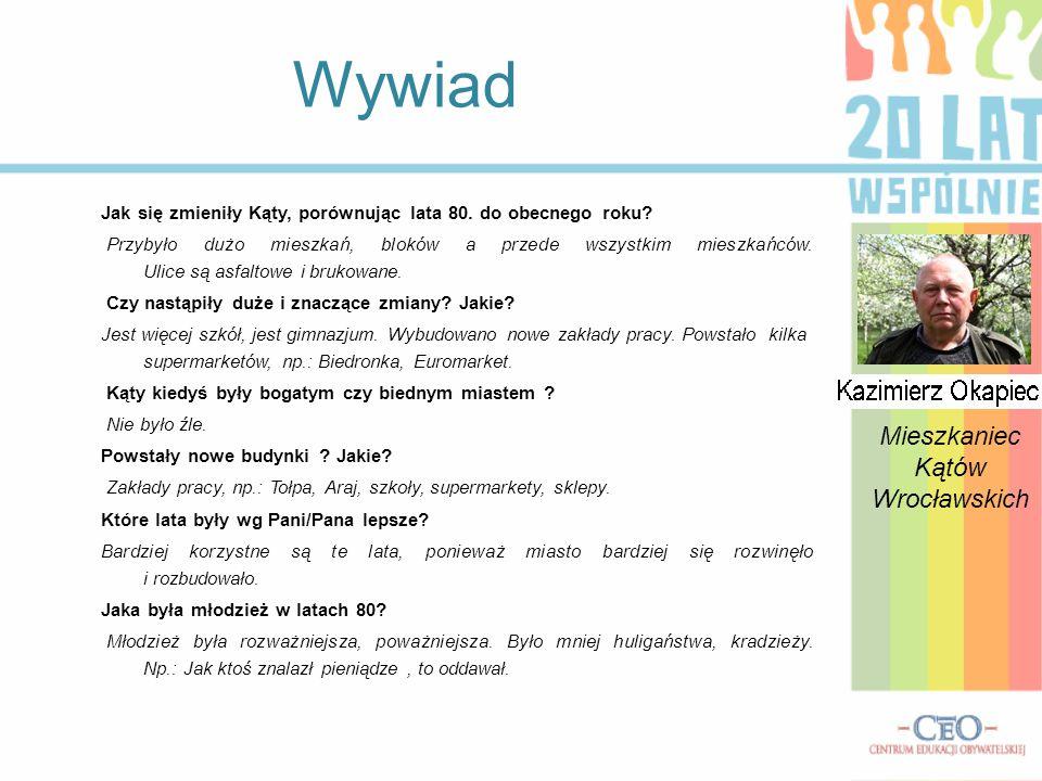 Mieszkaniec Kątów Wrocławskich