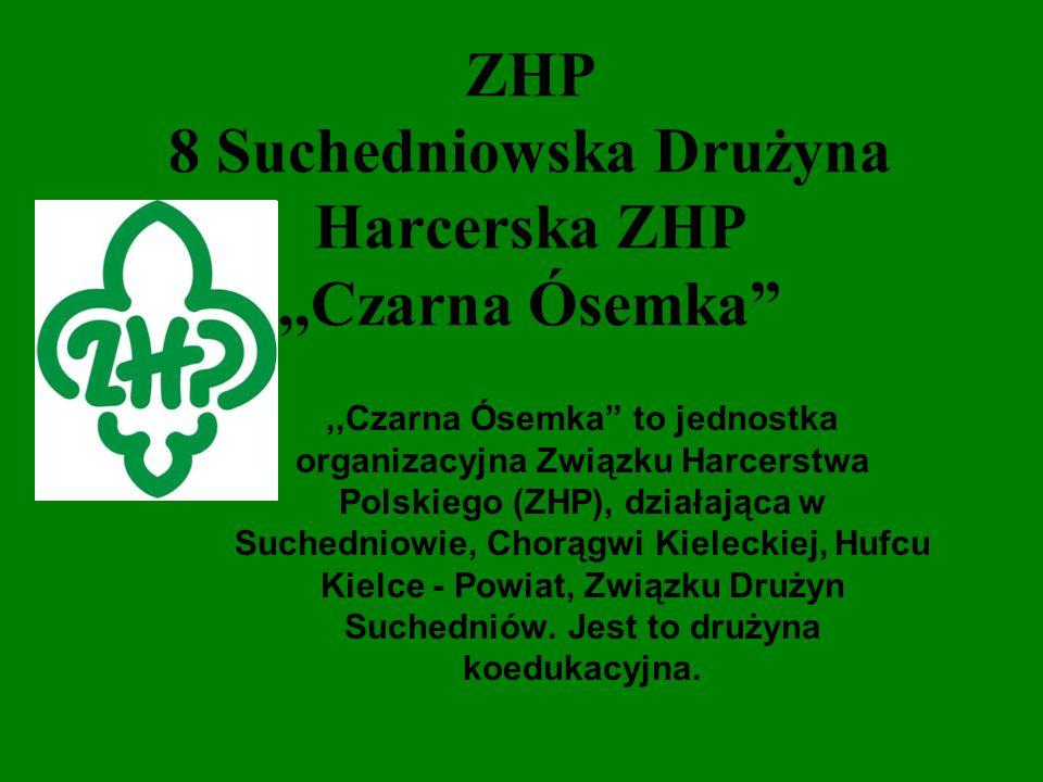 ZHP 8 Suchedniowska Drużyna Harcerska ZHP ,,Czarna Ósemka