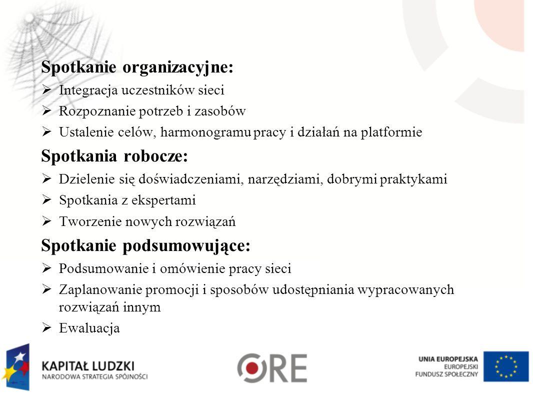 Spotkanie organizacyjne: