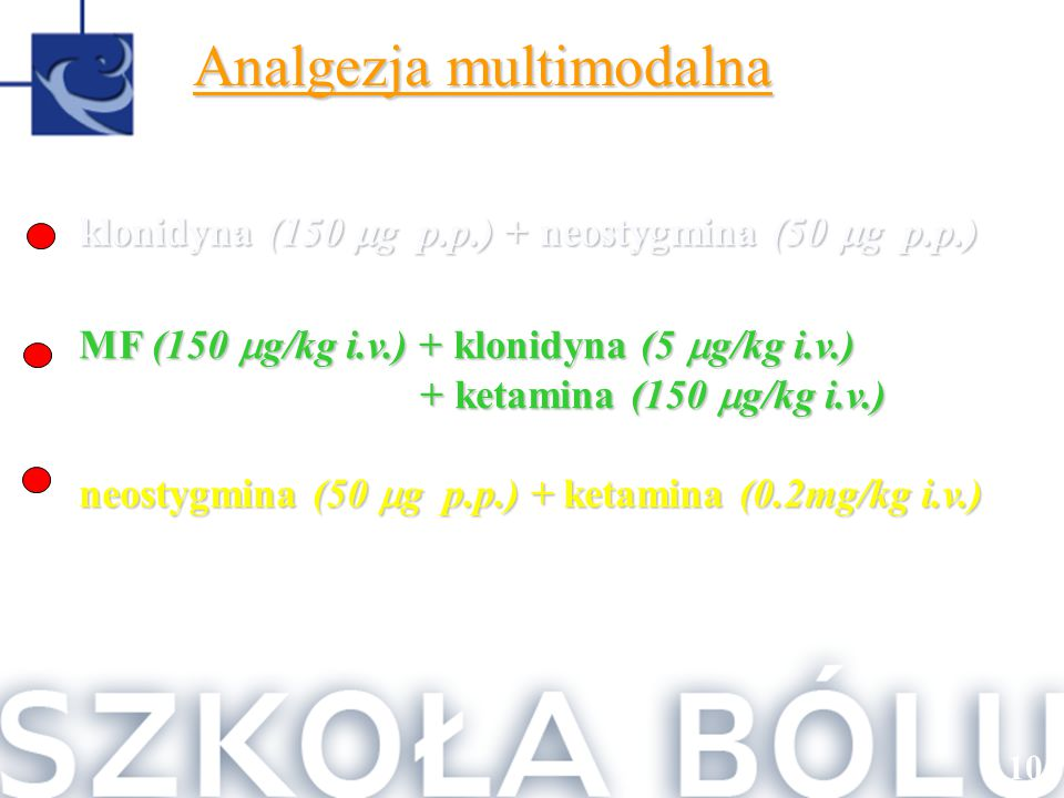 Analgezja multimodalna